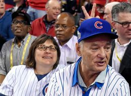 Bill Murray Surprises Cubs Fan With A Seat Next To Him At World Series