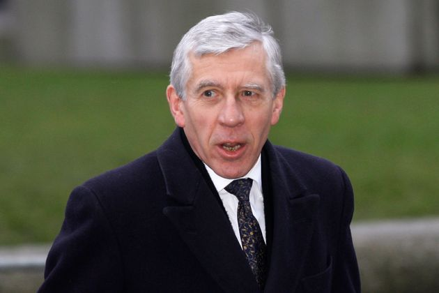 Jack Straw arrives for the Iraq Inquiry in