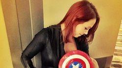 Mum Breastfeeds Son At Comic Con Like The Superhero She