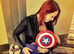 Mom Breastfeeds Son At Comic Con Like The Superhero She Is