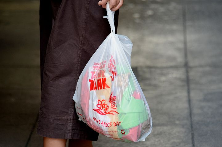 Environmentalists say disposable plastic bags like these are one of the greatest threats to our waterways.