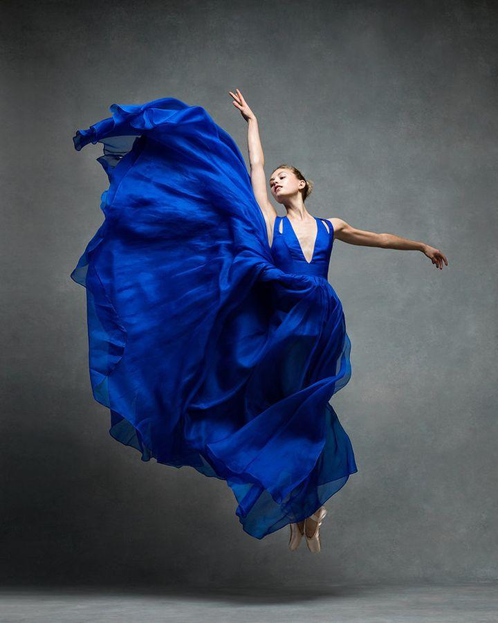 Miriam Miller of the New York City Ballet.