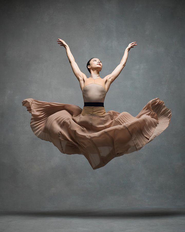 Xin Ying, a principal at the Martha Graham Dance Company.