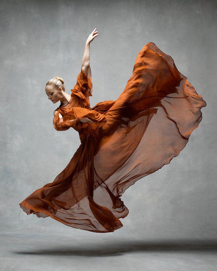Charlotte Landreau, a soloist at the Martha Graham Dance Company.