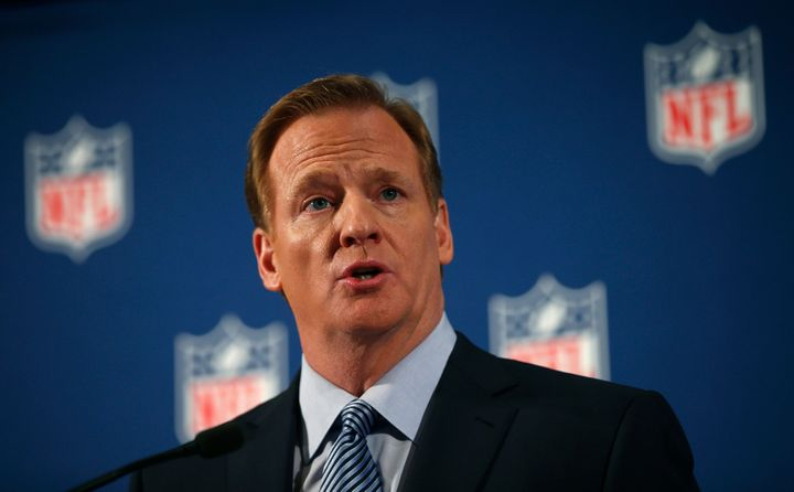 "NFL commissioner Roger Goodel made over <a href=""http://profootballtalk.nbcsports.com/2014/02/14/nfl-defends-explains-goodell"