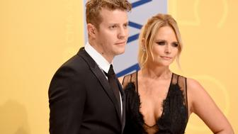 NASHVILLE, TN - NOVEMBER 02:  Singer-songwriters Anderson East and Miranda Lambert attend the 50th annual CMA Awards at the Bridgestone Arena on November 2, 2016 in Nashville, Tennessee.  (Photo by John Shearer/WireImage)