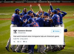 Americans React To The Cubs' World Series Win