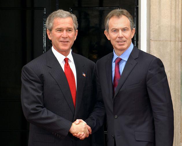 George Bush and Tony
