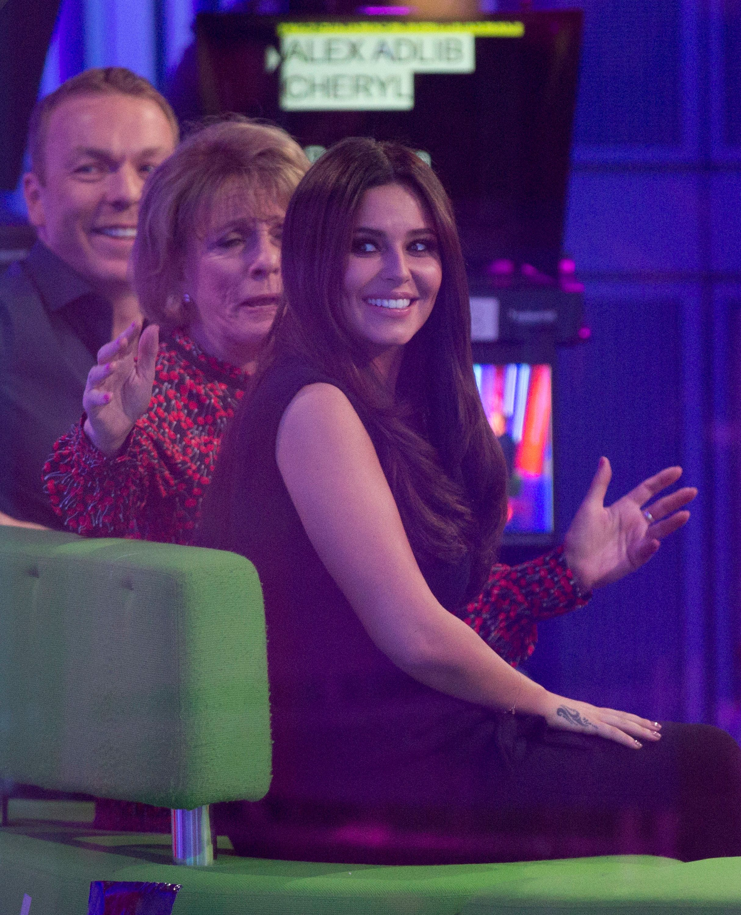 Cheryl Dishes Out Baby Advice On 'The One Show' As Pregnancy Rumours