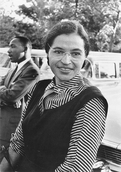 <em>Rosa Parks with MLK</em>