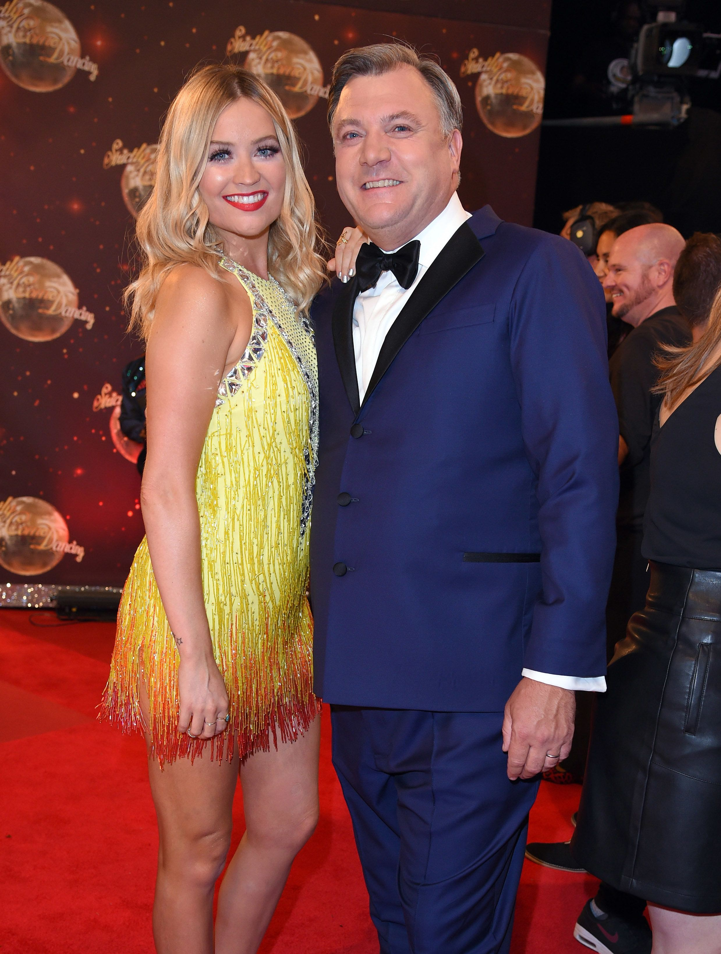 Laura Whitmore Reveals The Cheeky Message Ed Balls Sent Her When She Was Forced To Miss