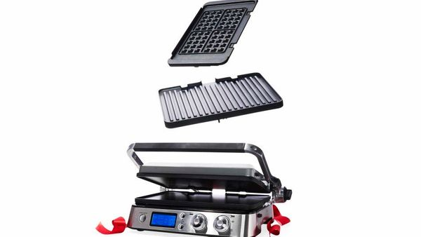 "<strong>Switch Hitter</strong> <br><br>""Thanks to the griddle, waffle, and grill plates on this clever appliance, I can make"