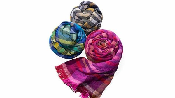 """<strong>Wrap Stars </strong><br><br>""""Take a page from neckwear king Adam Glassman and never leave home without a colorful sca"""