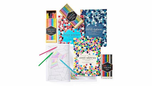 """<strong>Color Me Calm</strong><br><br> """"Iyanla recently gave me a few adult coloring books, and filling in the blanks has bec"""