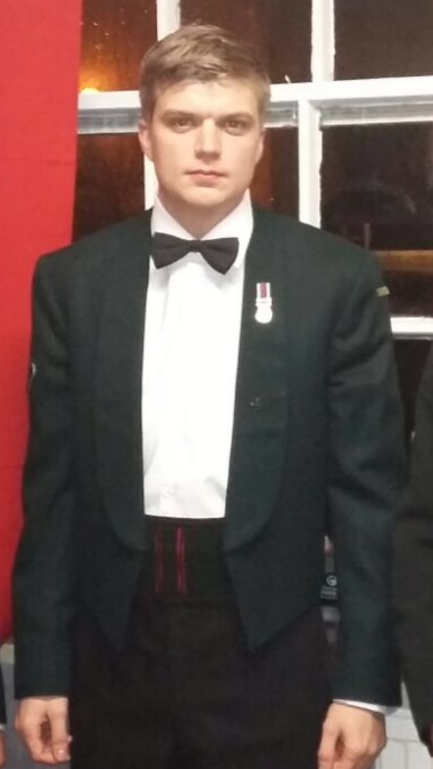Lance Corporal Joe Spencer died during a training