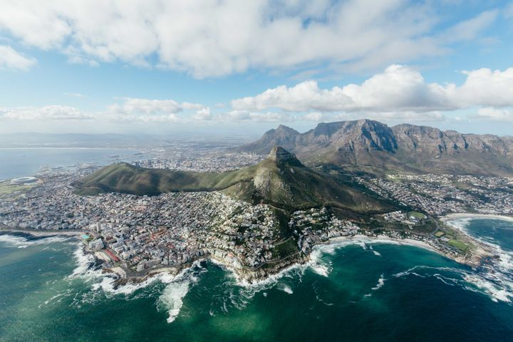 <p>Cape Town from above</p>