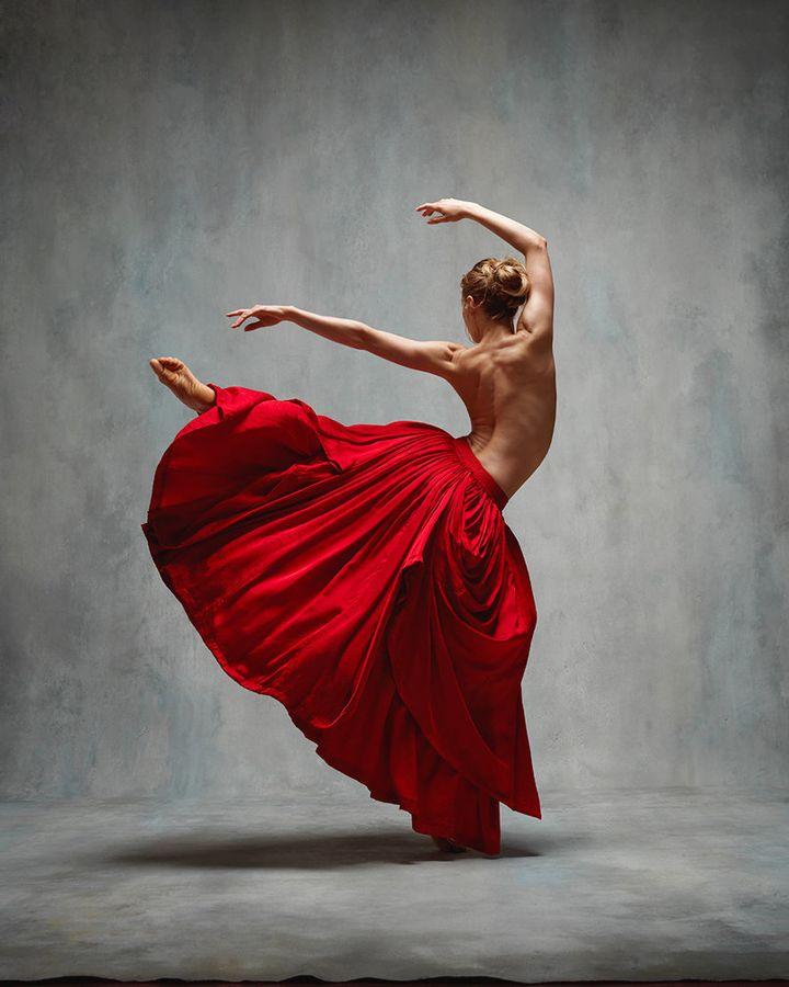 Ashley Ellis, a principal at the Boston Ballet.