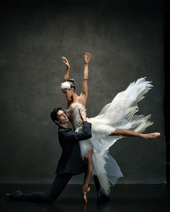 Misty Copeland and Alexandre Hammoudi of the American Ballet Theatre.