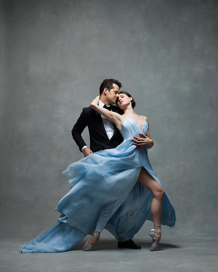 Robert Fairchild and Tiler Peck ofNew York City Ballet.