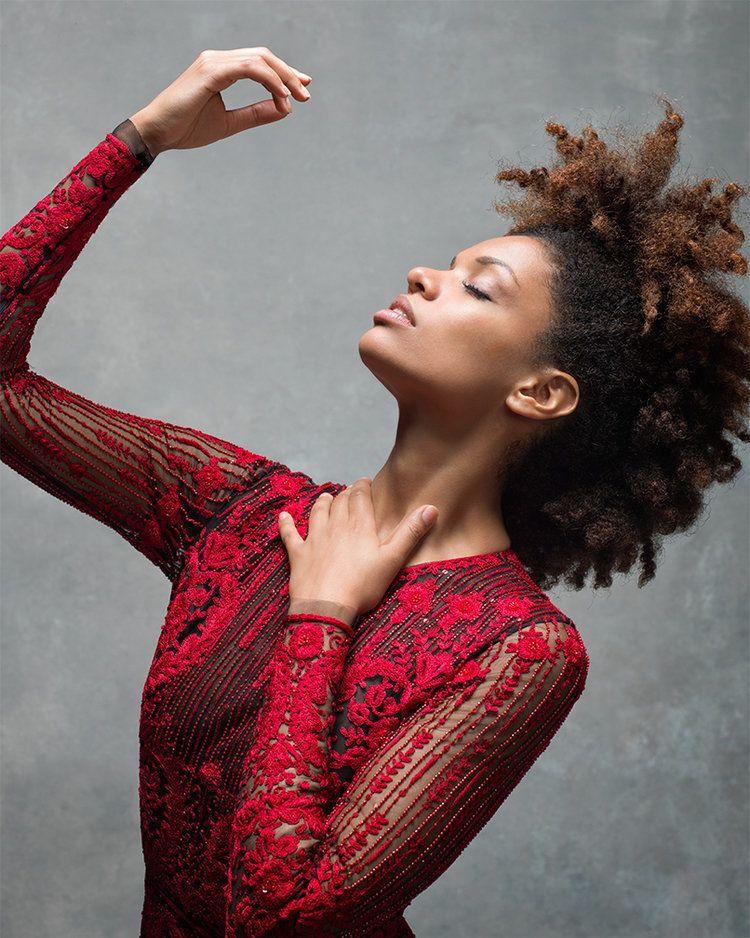 Fana Tesfagiorgis of the Alvin Ailey American Dance