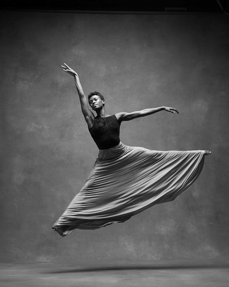 Rachael McLaren of the Alvin Ailey American Dance Theatre.