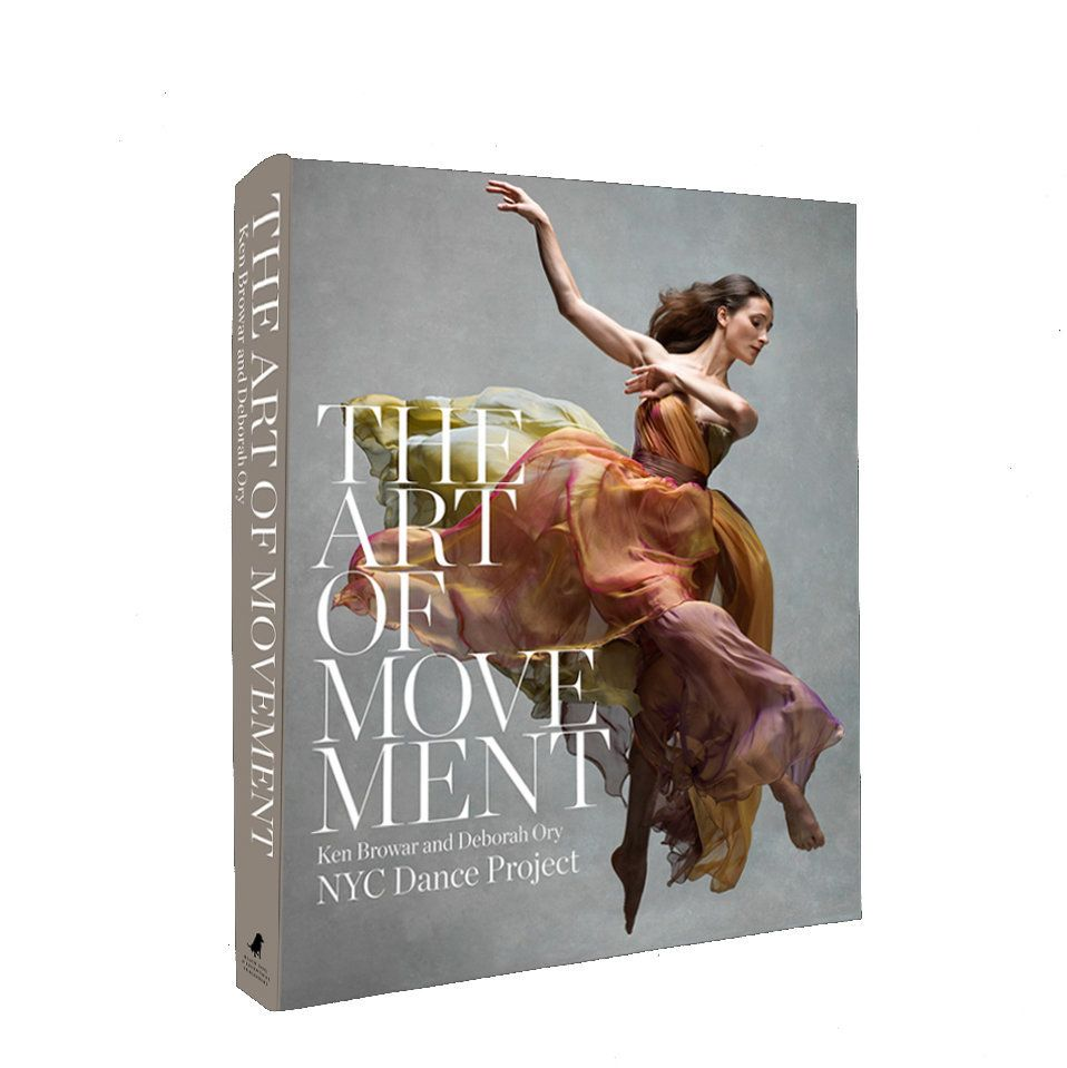 Book Cover featuring Masha Maddux Dashkina, a principal at the Martha Graham Dance Company.