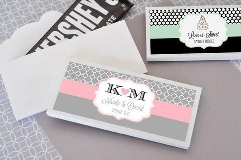 """Photo from <a href=""""https://www.weddingfavy.com/products/personalized-chocolate-bar-wrappers"""" target=""""_blank"""">WeddingFavy</a>"""