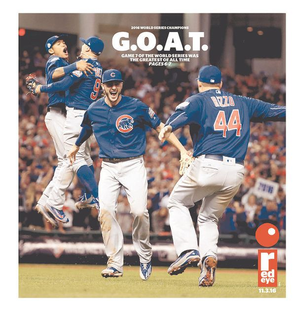 Chicago's free commuter daily scored a double with a hip reference to being the greatest of all time&nbsp;<i>and&nbsp;</i>the