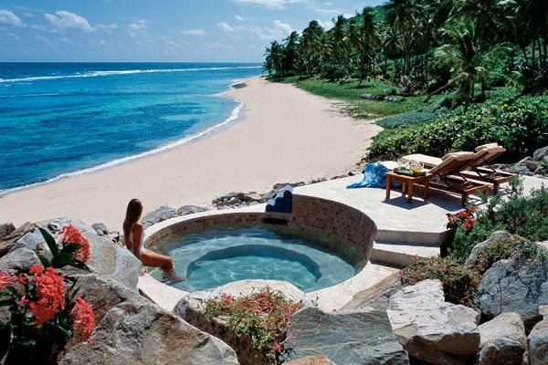 <strong>Your Own Private Island Wedding on Peter Island, British Virgin Islands: 1</strong>800 acres of a pristine Caribbean