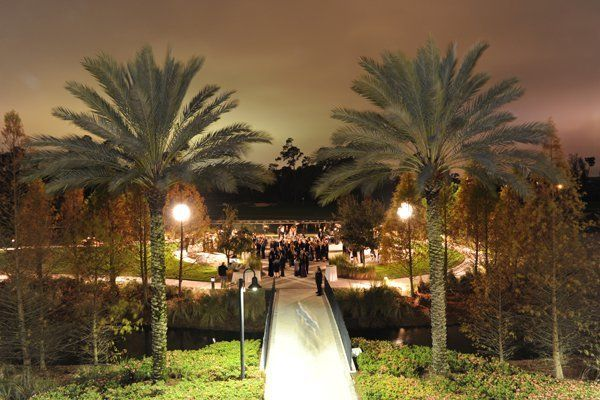 <p>A Helicopter Fairytale at Signature Island in Orlando, Florida: A truly breathtaking backdrop for your nuptials, Signature Island at the Waldorf Astoria Orlando and Hilton Orlando Bonnet Creek offers a natural flowing creek through it for a beyond tranquil aura and matchless views of golf courses, palm trees, and more. Make a razzle dazzle entrance on your own private helicopter before sealing the deal as the majestic sunsets in the background. Did we mention a fireworks show during your first dance?</p>