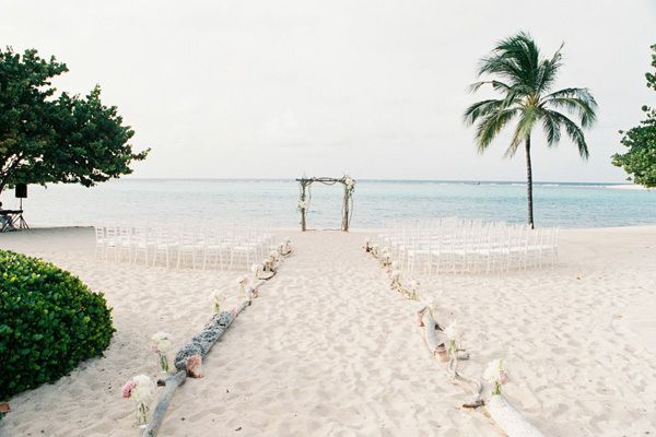 <strong>Off-the-Grid Luxury Beach Wedding on Oil Nut Bay in the British Virgin Islands: </strong>To get to this bespoke and l