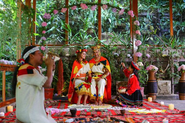 <strong>An Inca-Inspired Ceremony in the Shadow of Machu Picchu at Sumaq Machu Picchu Hotel in Lima, Peru: </strong>How about