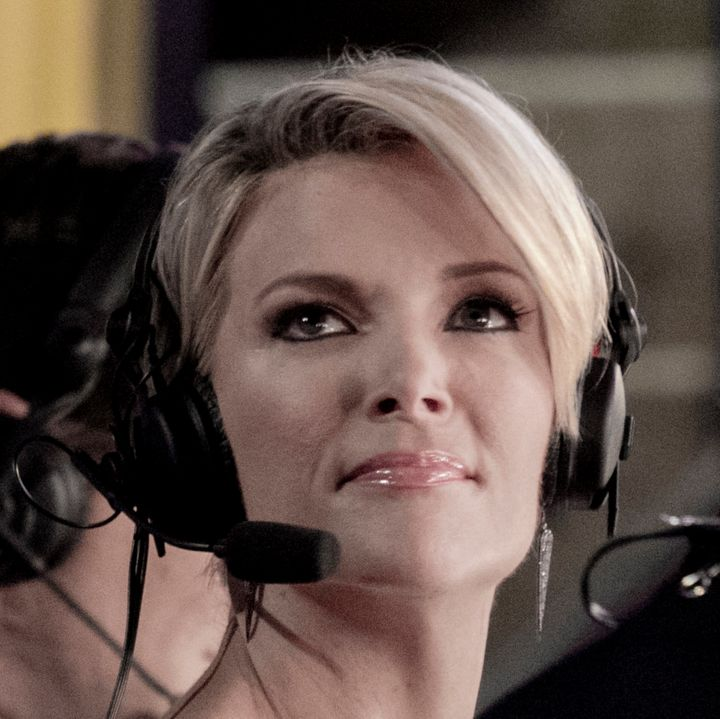 Megyn Kelly reporting from the Republican National Convention in July.