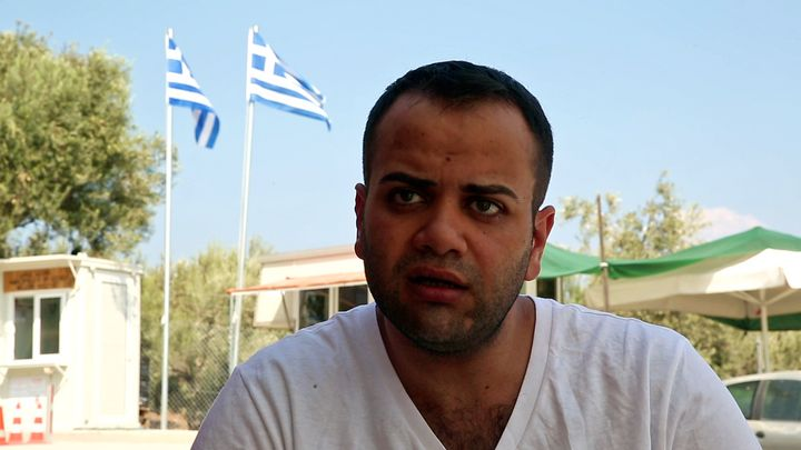 Ramy Qudmany, from Syria, was among the survivors of the boat that capsized, close to the coast of Lesbos, claiming the lives