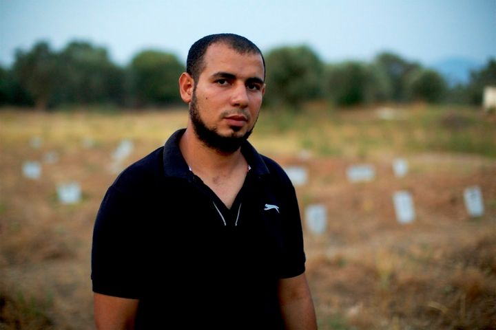 Mustafa Dawa has been working as an undertaker in Lesbos, burying the dead bodies of Muslim refugees who perished at sea.