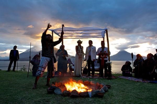 <strong>Traditional Mayan Wedding at Casa Palopo in San Antonio Palopo, Guatemala: </strong>Gaze. Enjoy. Repeat. That's prett