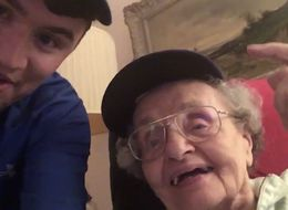 Check Out All These Emotional Grandparents After Their Cubs Won It All