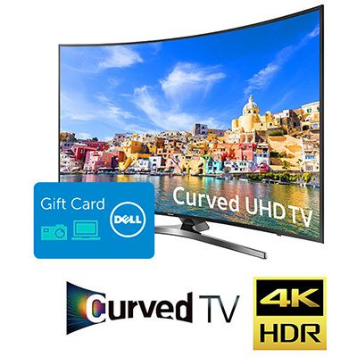 "<a href=""https://r.zdbb.net/u/1rdq"" target=""_blank"">49&quot; Samsung 4K Curved LED HDTV + $150 Dell Gift Card for $599.99 ("