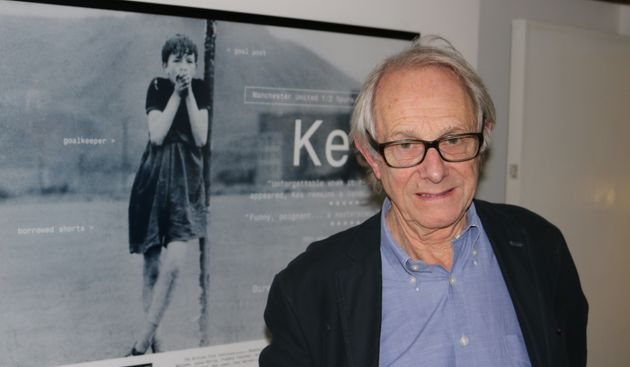 Ken Loach in his Soho offices while speaking to HuffPost