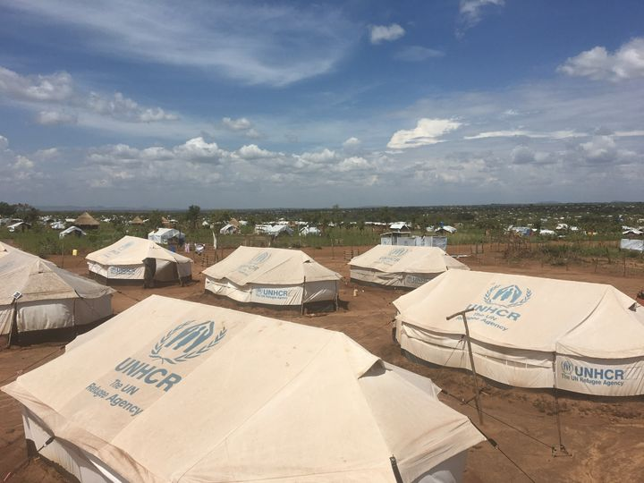 Pagirinya refugee settlement in Adjumani district located in northwest Uganda. The Ugandan government, UNHCR and our partners