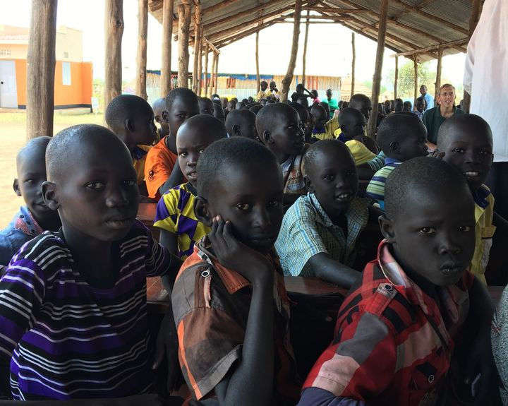Thousands of South Sudanese refugee children are currently attending schools in Uganda despite the limited funding and resour