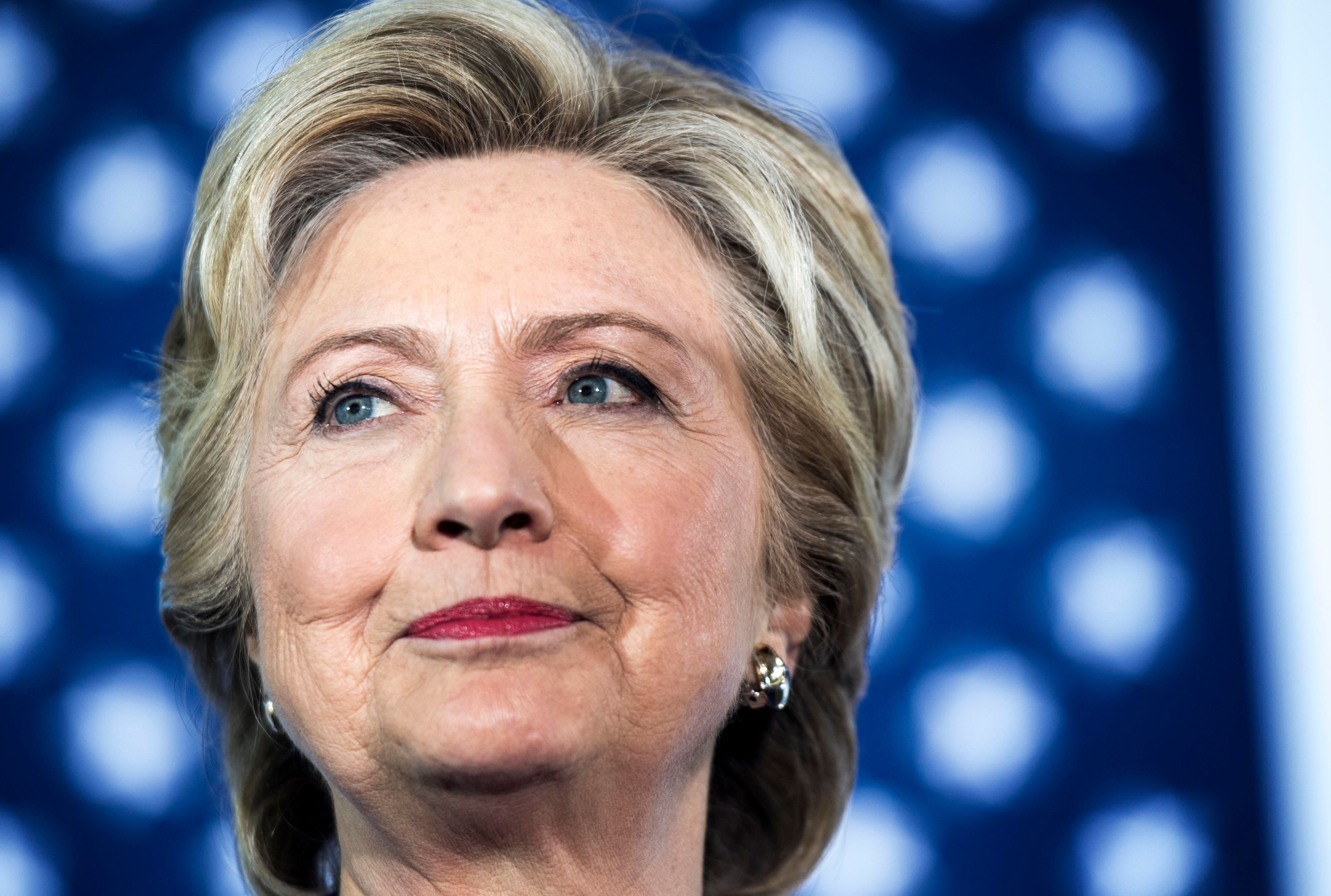 """Hillary Clinton gave her concession speech Wednesday morning, telling her young supporters to """"never doubtthat you are"""