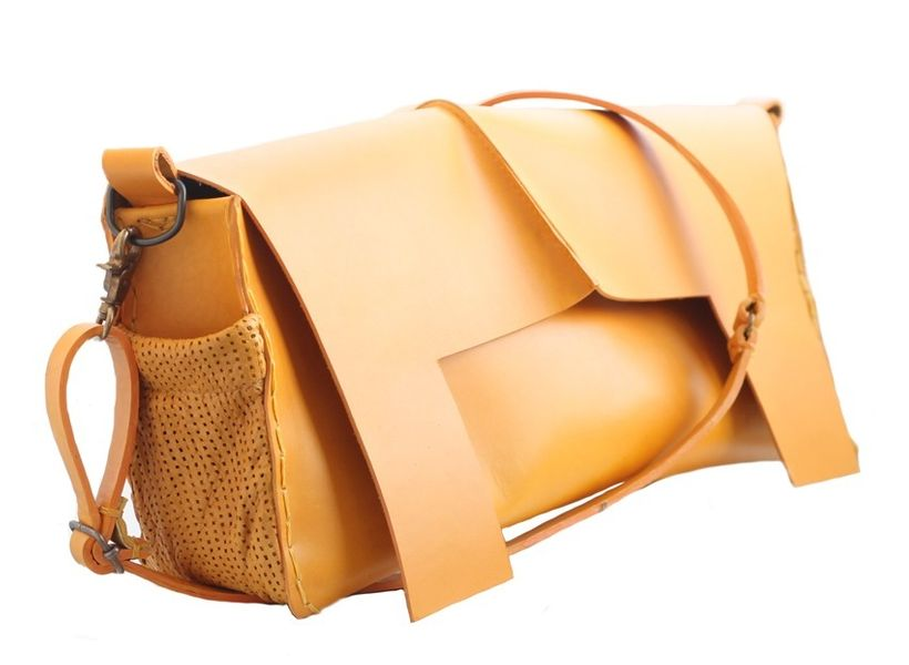 The Ibaka Bag for weekend or work from African luxury brand MINKU retails for $1,280.