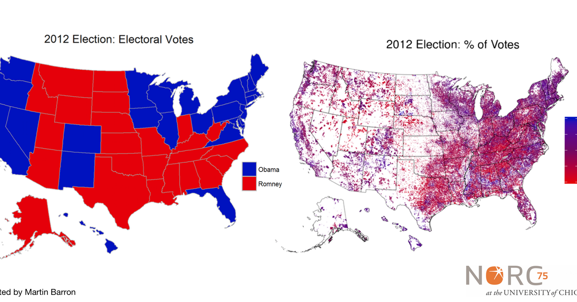 The Most Stunningly Detailed Election Map Was Just Released - Us election heat map