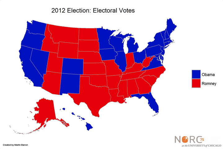 A Better Way To Visualize Presidential Election Results HuffPost - Us election results electoral map