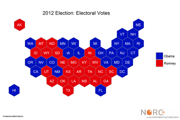 A Better Way To Visualize Presidential Election Results