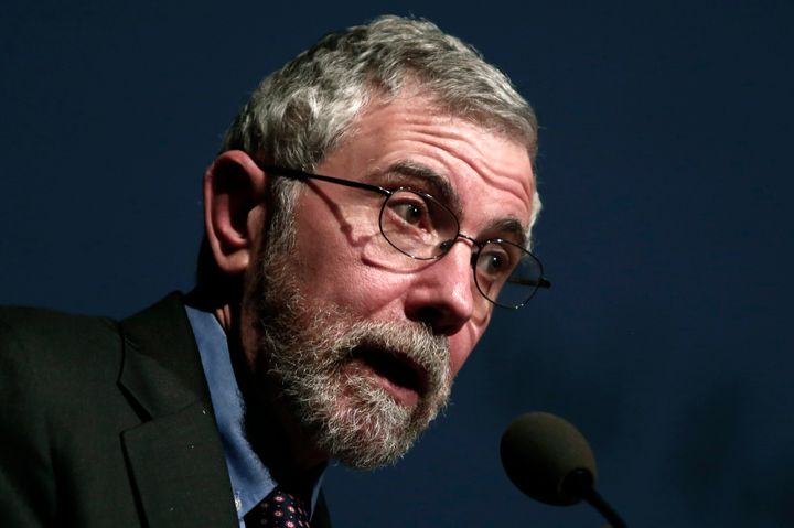 Paul Krugman warned that President Barack Obama's signature climate policy could be derailed if Republicans retain control of