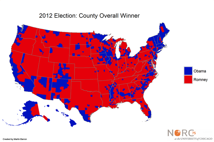 A Better Way To Visualize Presidential Election Results HuffPost - Huffington post us election map