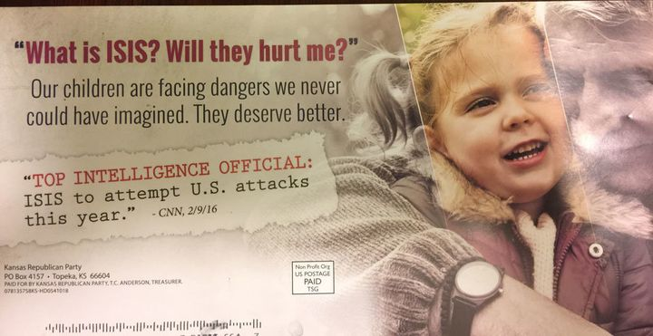 A flier sent to the 88th District in Kansas, from Rep. KenCorbet.