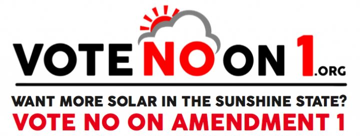 Floridians Want More Solar In The Sunshine State -- Vote NO On Amendment 1